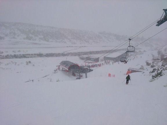 Nevando en Fuentes de Invierno