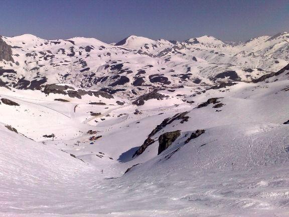 El Tubo del Toneo, una de las mejores pistas de la Cordillera Cantábrica