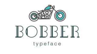 Free retro fonts Bobber