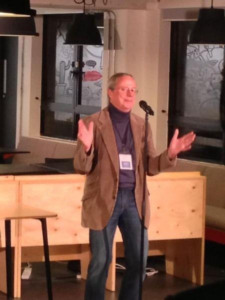 David Allan at Google Campus