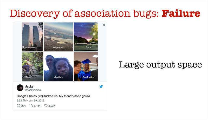 discovery of association bugs failure